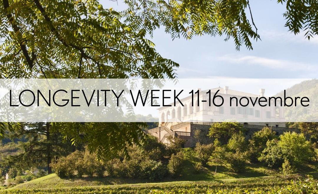 Longevity week 11-16 novembre 2019